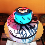 PASTEL DE MONSTER HIGH
