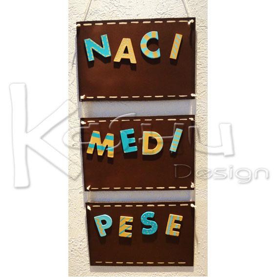 Kashu design arreglo de madera para colgar en la puerta - Arreglo de puertas de madera ...