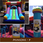 INFLABLES INFANTILES MINIONS